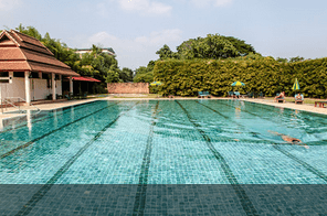 Lap swimming pool