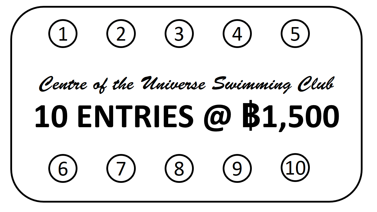 Discount Card 10 entries