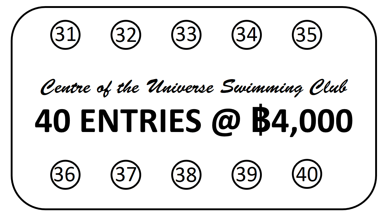 Discount Card 40 entries