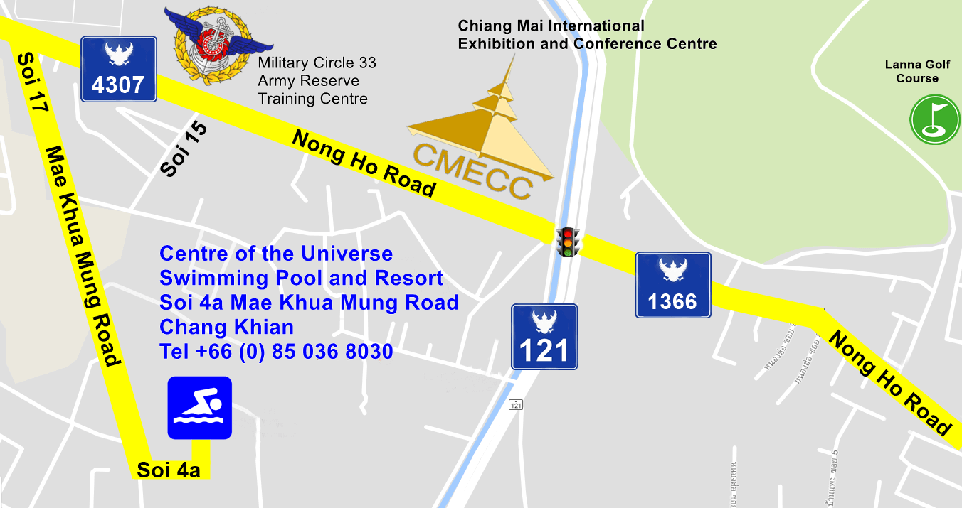 Road numbers from Convention Centre