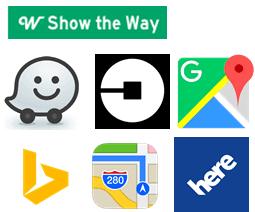 Show the way app