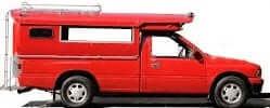 red taxi or songthaew